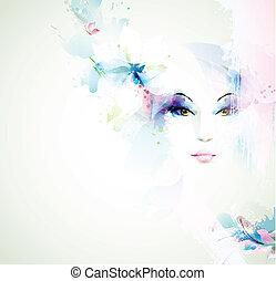 nők, gyönyörű