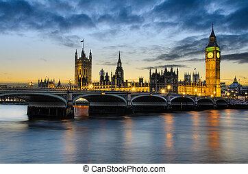nagy ben, napnyugta, uk, london
