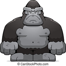 nagy, emberszabású majom