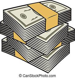 nagy, kazal, pénz
