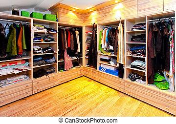 nagy, szekrény