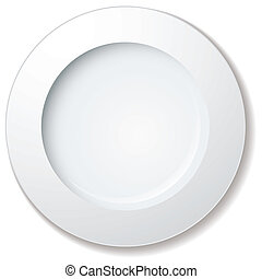nagy, tányér, vacsora, abroncs