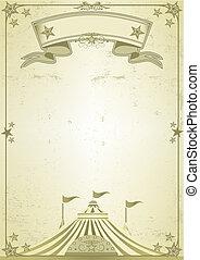 nagy tető, cirkusz, levél
