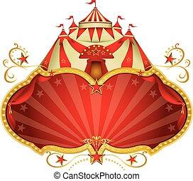 nagy tető, cirkusz, varázslatos
