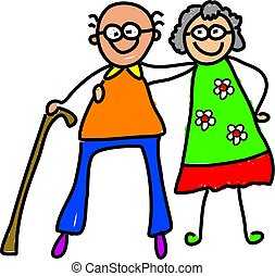 nagyszülők, az enyém