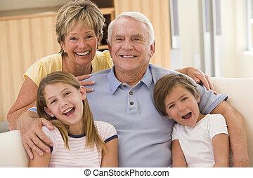 nagyszülők, feltevő, unokák