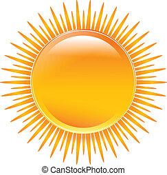 nap, befest, sima, élénk