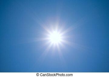 nap, fényes