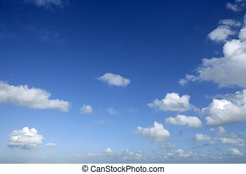 nap, kék, napos, ég, elhomályosul, gyönyörű, fehér