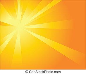 napfény, háttér