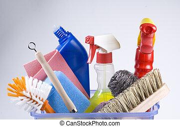 napi, takarítás