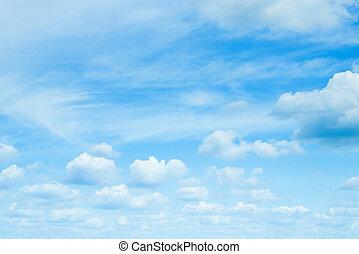 napos, sky., day., kék