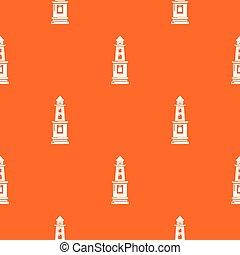 narancs csillogó, vektor, figyelmeztetés, motívum