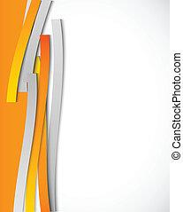 narancs, elvont, megvonalaz, háttér