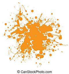 narancs, locsogás, tinta