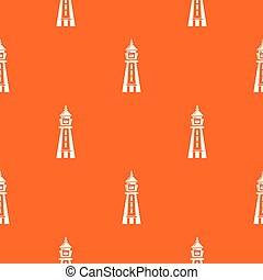 narancs, motívum, bástya, vektor, figyelmeztetés