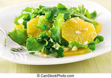 narancs, saláta