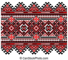 nemzeti, díszítés, ucrainian