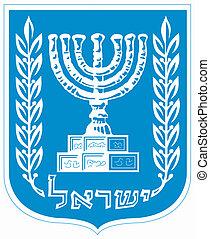 nemzeti emblem, izrael