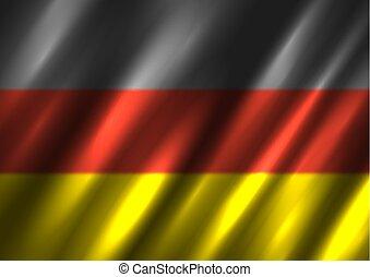 nemzeti, germany lobogó, háttér