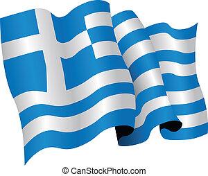 nemzeti lobogó, görögország