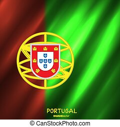 nemzeti, portugal lobogó, háttér