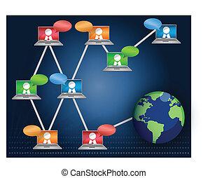 networking, csapatmunka, /