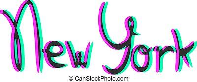 new york, látási jelkép