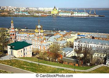 nizhny, eredet, oroszország, novgorod