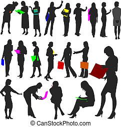 no.2., nők, munka, -, emberek