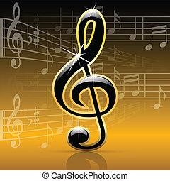 notes-melody, zene