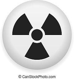 nukleáris, jelkép, kockázat