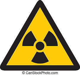 nukleáris, sárga cégtábla