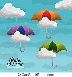 nyár, eső, évad