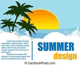 nyár holiday, tervezés