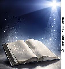 nyílik, isten, felteker, biblia