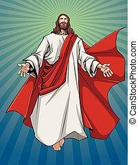 nyit fegyver, jézus