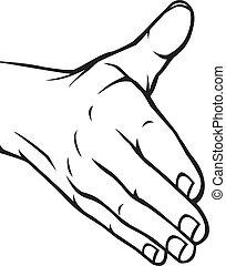 nyit kezezés