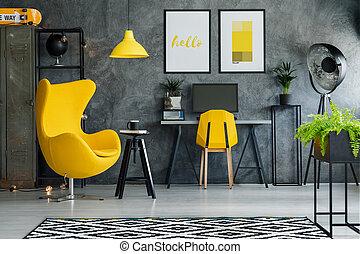 nyomaték, retro, sárga, segédszervek