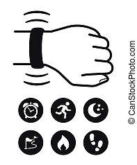 nyomozó, technológia, wearable, állóképesség