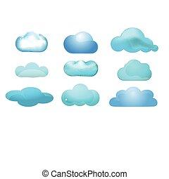 nyomtat, concept), sima, (cloud, ikon, állhatatos, 9, kiszámít, felhő