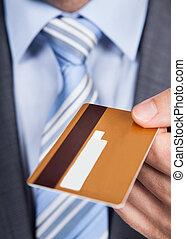 odaad, üzletember, kártya, hitel