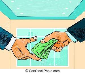 odaad, üzletember, pénz
