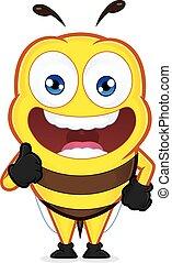 odaad, méh, feláll, lapozgat