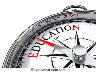 oktatás, iránytű