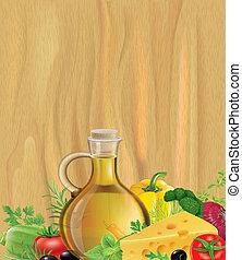 olívaolaj, erdő, növényi