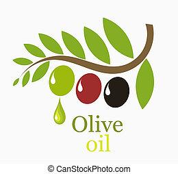 olajbogyó fa, elágazik