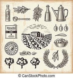 olajbogyó, szüret, állhatatos, betakarít