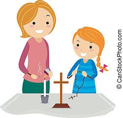 oltár, keresztény