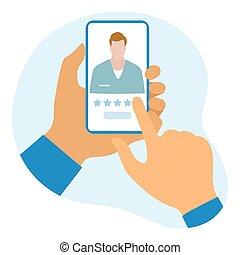online, healthcare, értékelés, orvos, szolgáltatás, orvosi